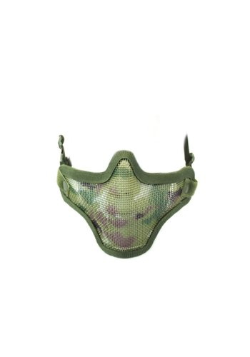 WEEU Nuprol Mesh Lower Face Shield V1 - Multicam