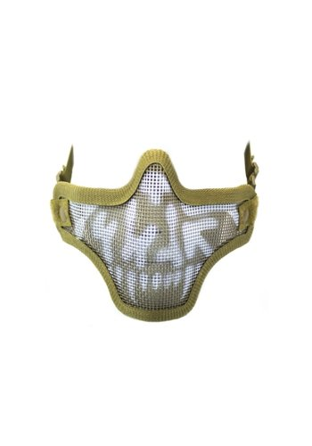 WEEU Nuprol Mesh Lower Face Shield V1 - Skull Tan