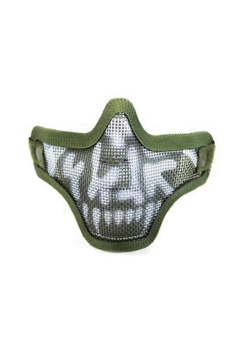 WEEU Nuprol Mesh Lower Face Shield V1 - Skull OD