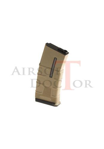 ICS Magazine M4 Midcap Tactical 180rds - Tan