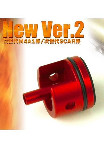Prometheus Aero Cylinder Head (New Version 2) For M4/HK416/HK417/SCAR Next Generation Recoil Shock Series