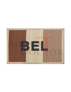 Claw Gear Belgium Flag Patch - Tan
