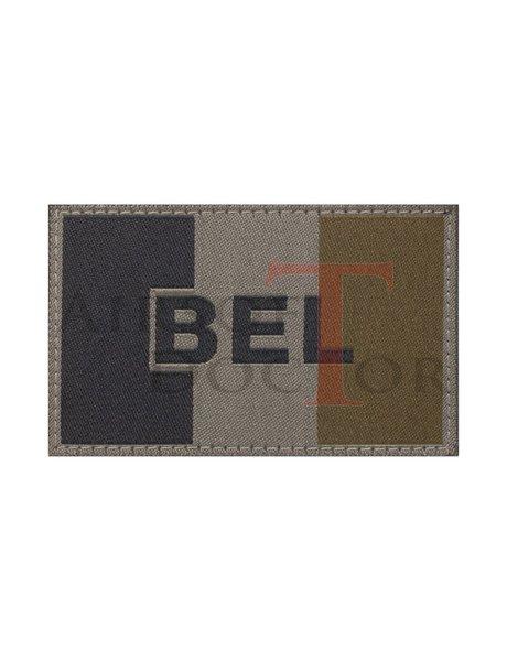 Claw Gear Belgium Flag Patch - OD