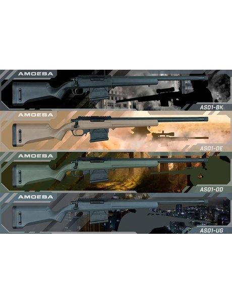 Ares (Amoeba) STRIKER S1 Sniper Rifle - Grey