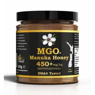 Manuka Honing / Honig - BeeNatural MANUKA-HONEY MGO® 450+ / 250gr. MGO® - *** SOLD OUT ***