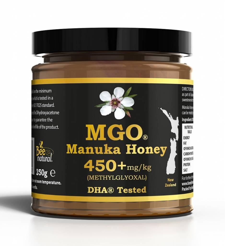 MANUKA HONEY MGO 450+ / 250gr  MGO