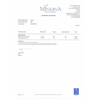 Manuka Honing / Honig - BeeNatural MANUKA-HONING MGO® 600+ / 250gr. MGO® - ECHT GLAZEN POT