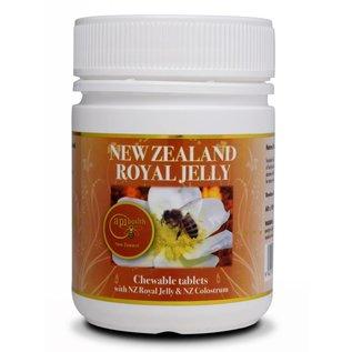 Manuka Honing / Honig - ApiHealth Manuka-Royal-Jelly tablets with Manuka-Royal-Jelly and NZ Colostrum