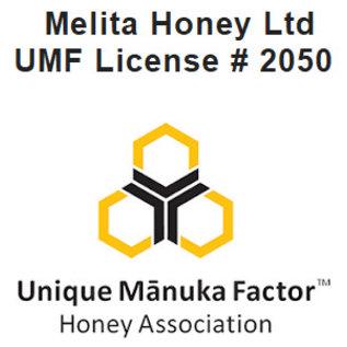 Manuka Honing / Honig - MELITA MANUKA-HONIG UMF® 15+ (= MGO ≥ 514) MELITA / 340g MANUKA-HONIG