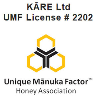 Manuka Honing / Honig - KĀRE MANUKA-HONIG UMF® 20+ (= MGO ≥ 829) KĀRE / 250g MANUKA-HONIG