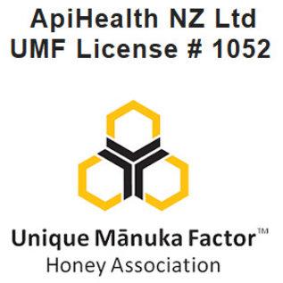 Manuka Honing / Honig - ApiHealth MANUKA-HONIG UMF® 20+ (= MGO ≥ 829) APIHEALTH / 250g MANUKA-HONIG