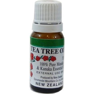 MANUKA HEALTH & BEAUTY / MANUKA BIOTIC® TEEBAUMÖL / MANUKAÖL / TEA TREE OIL - 10ml reines Manuka Teebaum-Öl