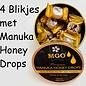 Manuka Honing / Honig - BEE NATURAL MANUKA-HONING PASTILLES / 4x 100g MGO® 300+ ManukaHoning Pastilles