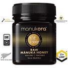 Manuka Honing / Honig - MANUKORA MĀNUKA HONEY UMF® 15+ MANUKORA / 250g MĀNUKA-HONEY