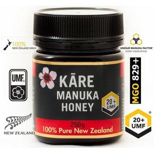 Manuka Honing / Honig - KĀRE MANUKAHONING UMF® 20+ (= MGO ≥ 829) / 250g MANUKA-HONING KĀRE