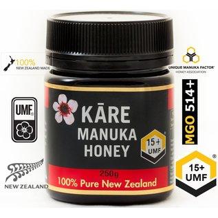 Manuka Honing / Honig - KĀRE MANUKA HONIG UMF® 15+ KĀRE / 250g MANUKA-HONIG / MGO ≥ 514