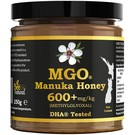 Manuka Honing / Honig - BEE NATURAL MĀNUKA-HONEY MGO® 600+ / REAL GLASS JAR / 250g