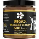 Manuka Honing / Honig - BEE NATURAL MANUKA-HONIG MGO® 600+ / IN EINEM ECHTGLAS GLAS / 250g