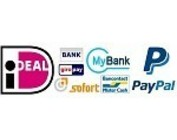 Betaalmethoden / Zahlungsmethoden / Payment methods