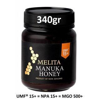 Manuka Honing / Honig - MELITA MANUKA HONING UMF® 15+ (= MGO ≥ 514) / 340g MANUKA-HONING MELITA