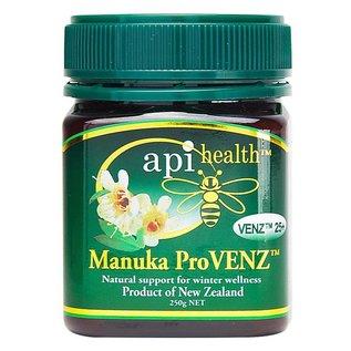 Manuka Honing / Honig - API HEALTH Manuka ProVENZ™ 25+ Manuka-Honig mit Manuka-Propolis & VENZ™ Bienengift