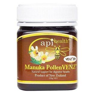 Manuka Honing / Honig - API HEALTH Manuka PollenVENZ™ 25+ Manuka-Honig mit Manuka-Pollen & VENZ™ Bienengift