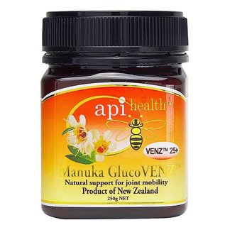 Manuka Honing / Honig - API HEALTH Manuka GlucoVENZ™ 25+ Manuka-Honing met Glucosamine & VENZ™ Bijengif