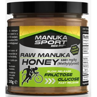 Manuka Honing / Honig - BEE NATURAL MANUKA SPORT BEE-FIT™ WITH MGO® MANUKA-HONEY / 250gr.