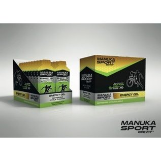 Manuka Honing / Honig - BeeNatural MANUKA SPORT BEE-FIT™ SPORTGEL WITH MGO® MANUKA-HONEY / 24 x 45gr.
