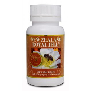Manuka Honing / Honig - ApiHealth Manuka-Royal-Jelly tablets with Manuka-Royal-Jelly and NZ Colostrum