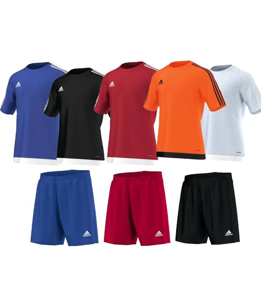 Adidas Estro Trikotset Kids (10 x Trikot und Hosen)