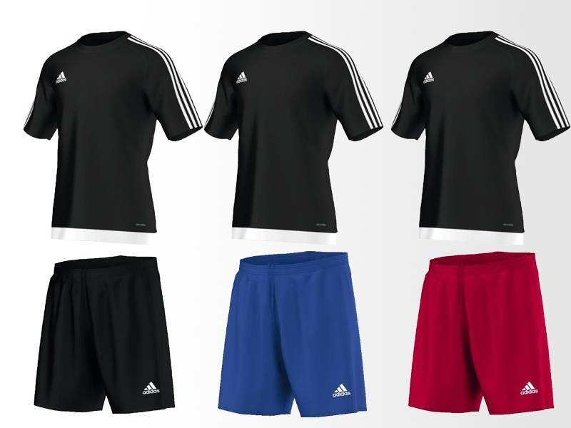 Adidas Estro Trikotset Kids (10 x Trikot und Hosen) - Copy