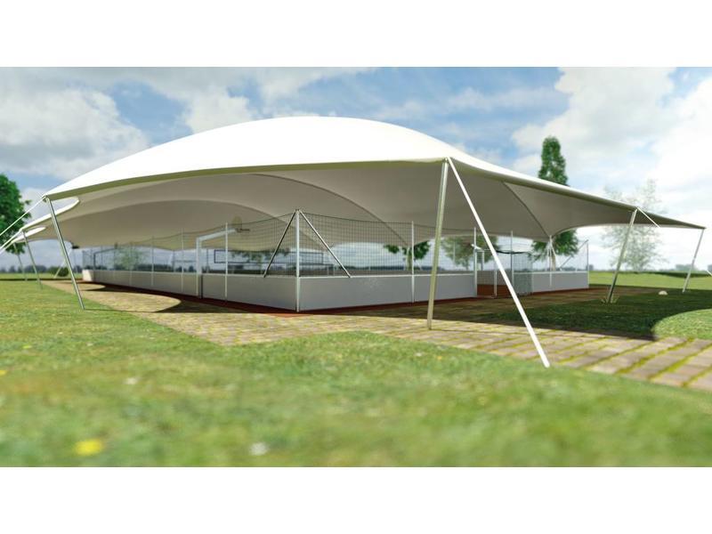Erhard Sport Sports Dome Minispielfeld 20 x 13m