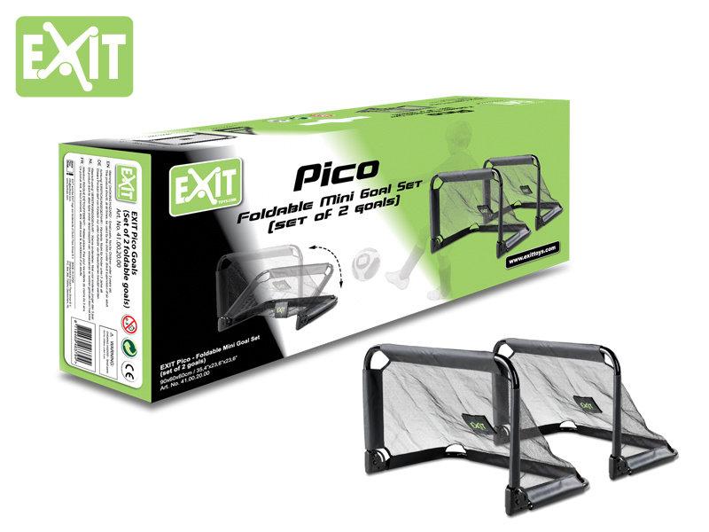 exit toys Exit Pico Set Mini-Tor 2 Stück