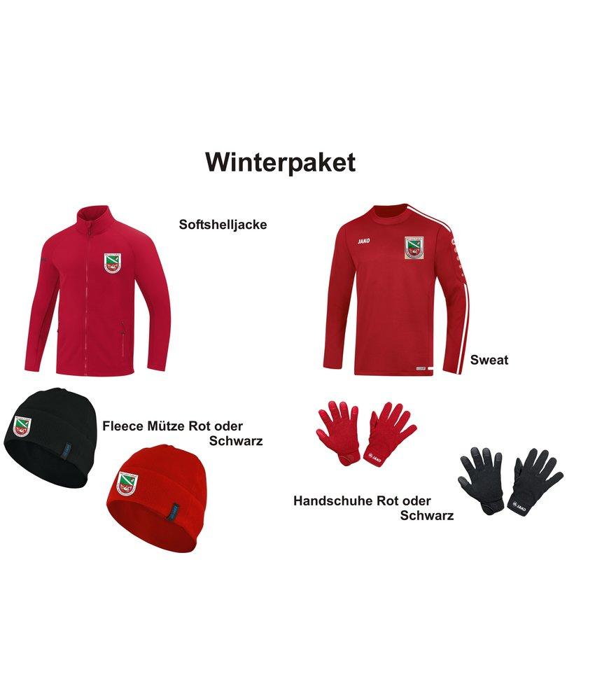 Jako Das Winterpaket für Rot Weiß