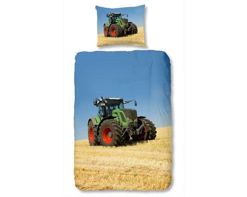 Good Morning Kinderdekbedovertrek tractor Fendt 140x220 cm