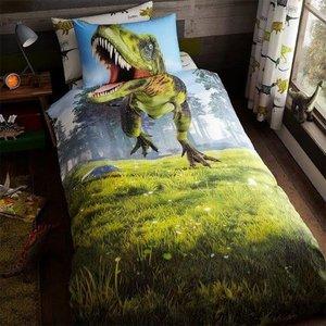 Dekbedovertrek Tyrannosaurus 135x200 1-persoons