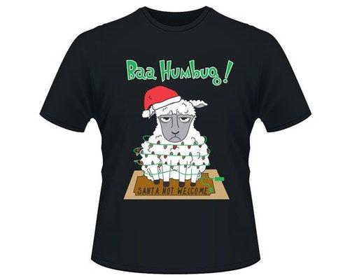Decoware Kerst T-shirt Schaap