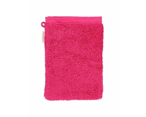 Washandje Solid Raspberry