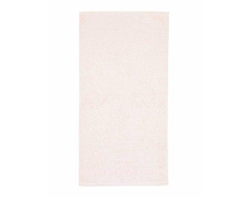 Handdoek 50x100 cm Solid eggshell