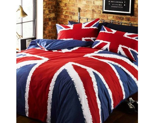 Decoware Dekbedovertrek Union Jack