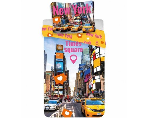 Dekbedovertrek Time Square