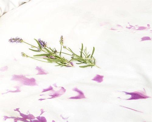 Lavendel dekbedovertrek