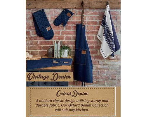 Oxford Denim keukenaccessoires