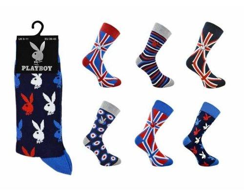 Playboy sokken (1 paar)