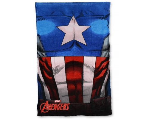 Marvel Avengers fleece deken Captain America