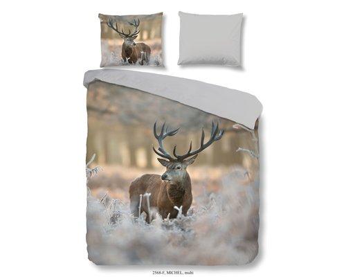 Good Morning Flanel dekbedovertrek Hert winter