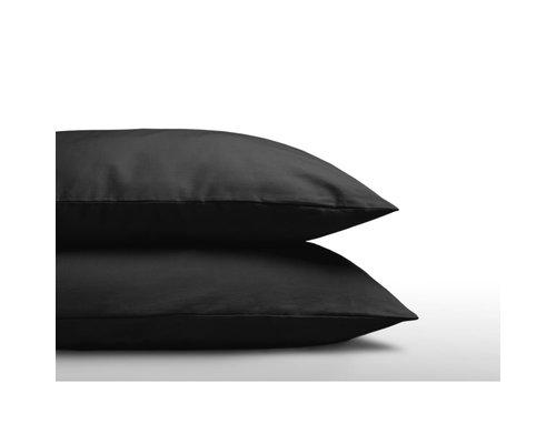 Sleeptime Zwarte kussensloop (Per 2 st)