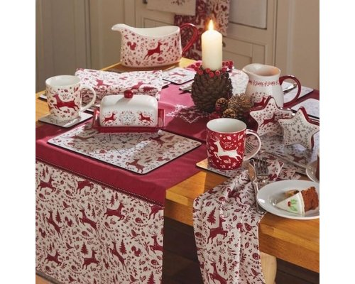 Kerst keukentextiel