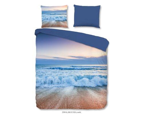 Good Morning Dekbedovertrek Blue Sea